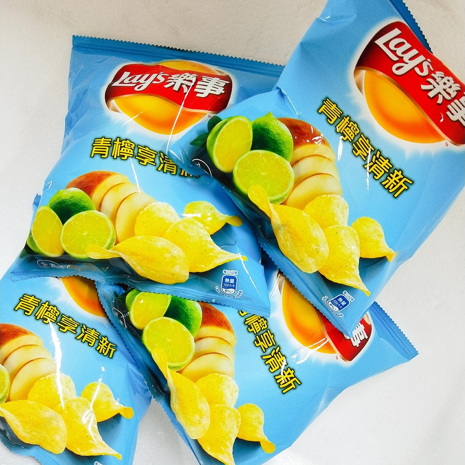 Image Lay's Lemon Potato Chip 凯式 - 乐事青柠享清新 43 grams