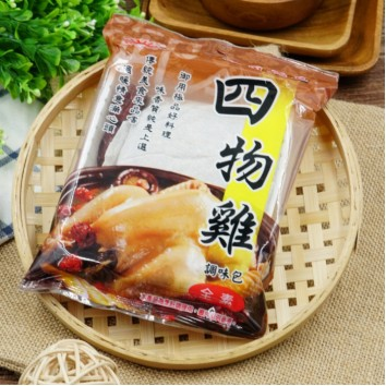 Image hsin-kuang Herbal traditional four-substance decoction SI WU JI 新光 - 四物鸡 60 grams