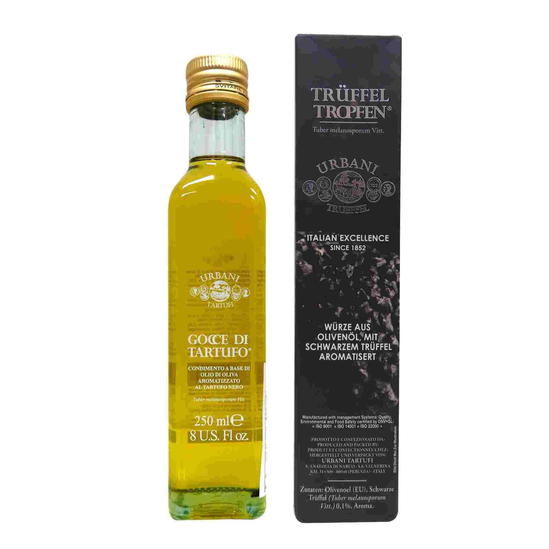 Image Black Truffle Flavored Olive Oil 黑松露油 250ml