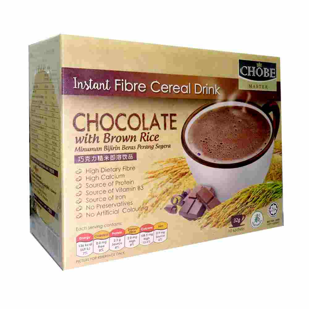Image Chocolate Brown Rice 巧克力糙米即溶饮品 320grams