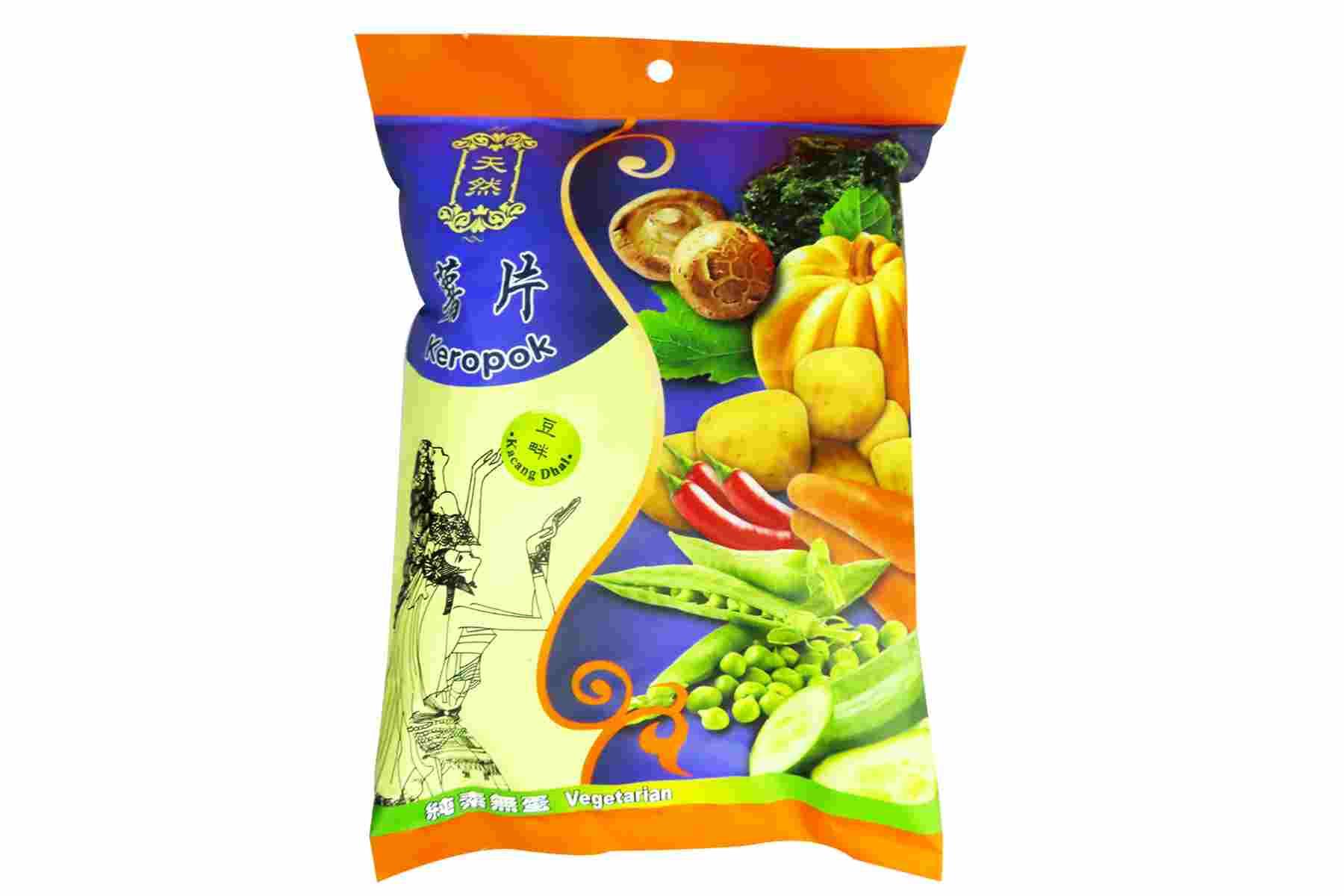 Image Kun Yi Kacang Dhal Cracker 昆益 - 豆畔薯片 40grams