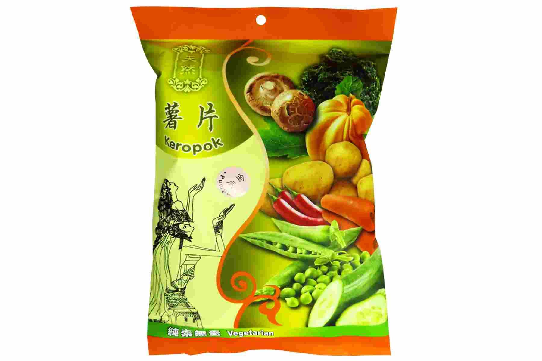 Image Kun Yi Pumpkin Cracker 昆益 - 金瓜薯片 40grams