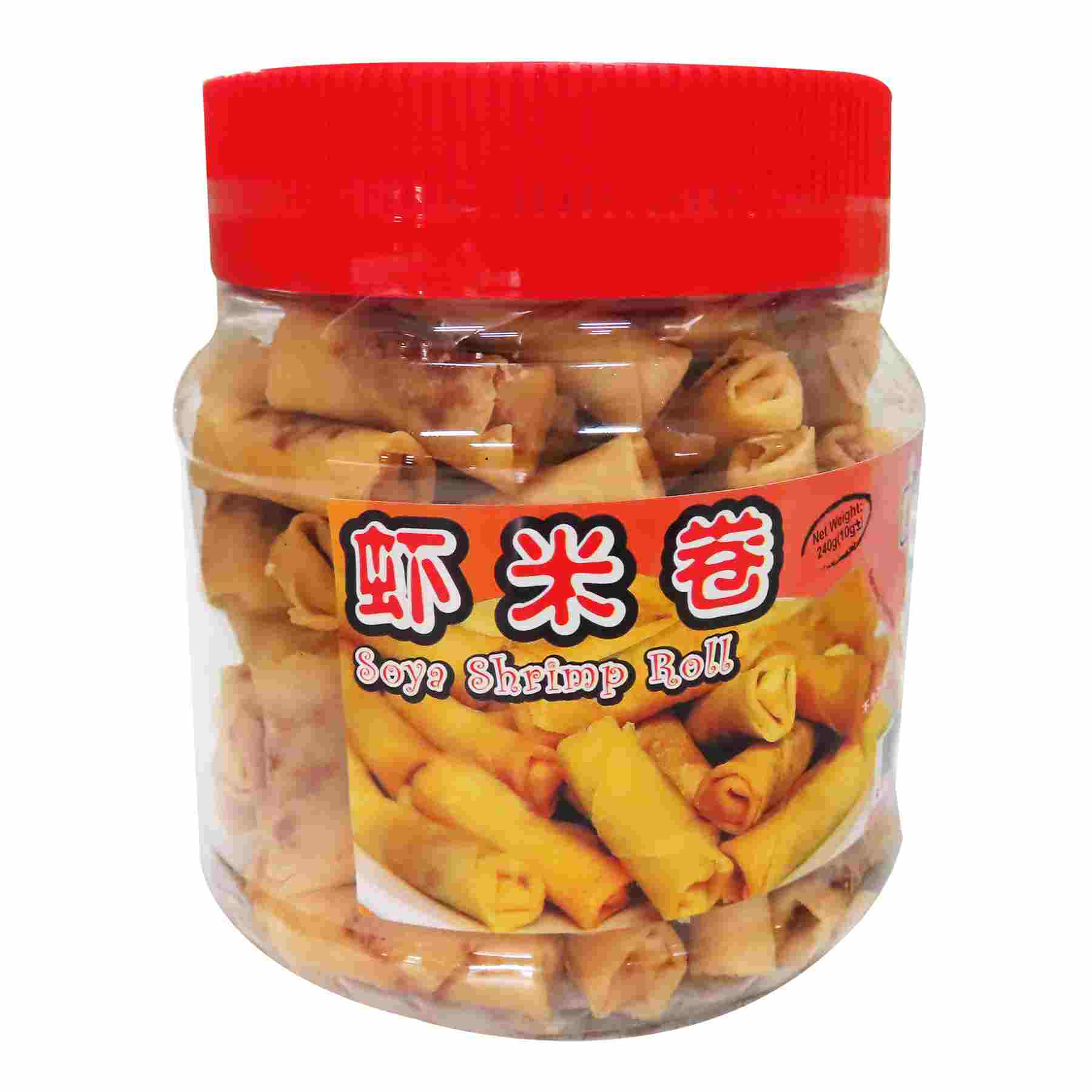 Image Soya Shrimp Roll Hae Bee Hiam Roll 德胜 - 虾米卷 250grams