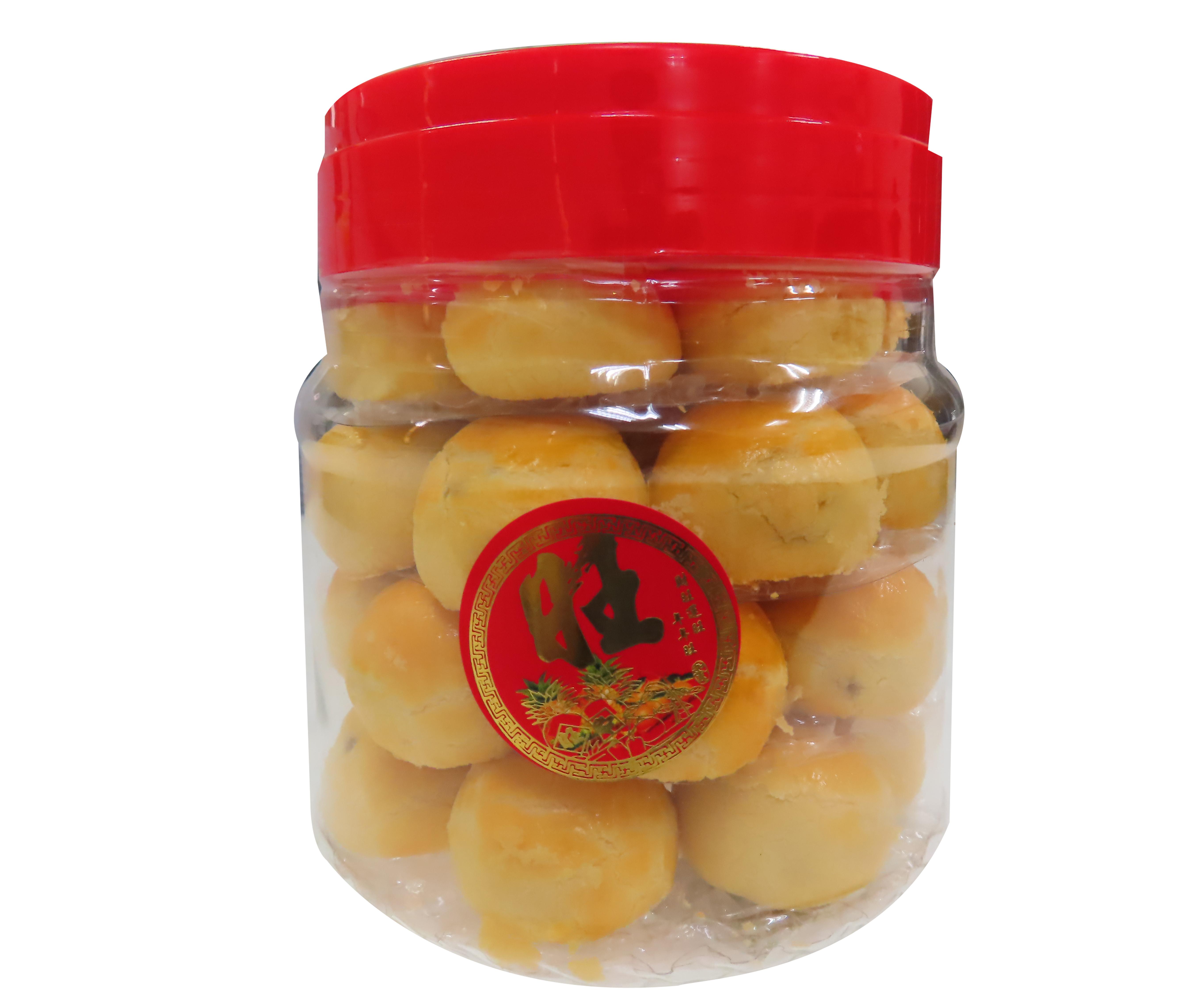 Image Butter Pineapple Ball A88 善缘 - 奶油凤梨球 (蛋素) 350grams