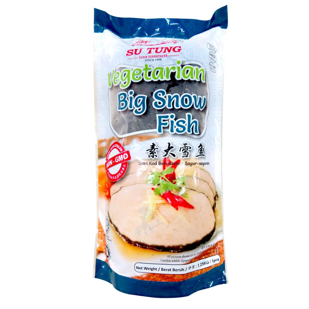 Image Veg Big Snow Fish 苏东 - 素大雪鱼 (西刀鱼) (蛋)1250grams
