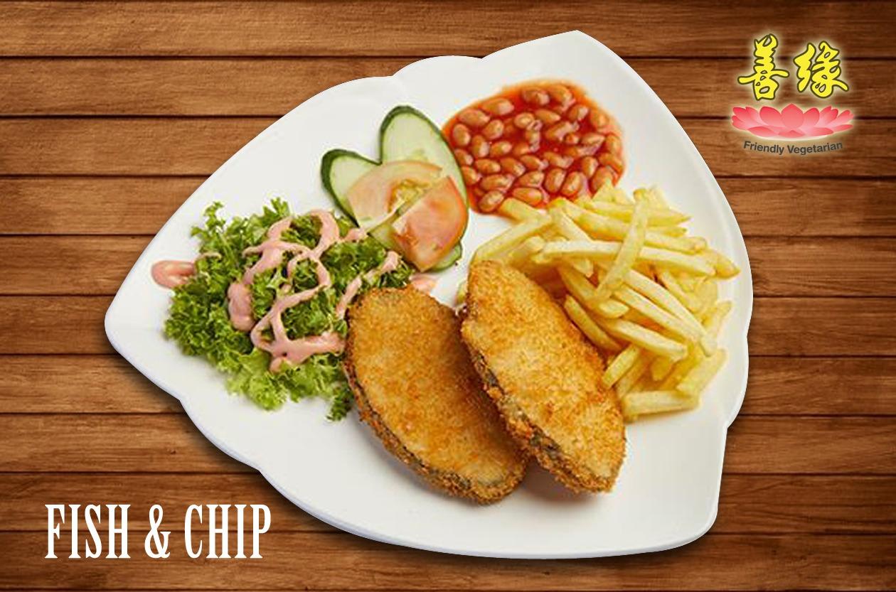 Image Vegan Fish and Chips Bundle 西式鳕鱼套餐