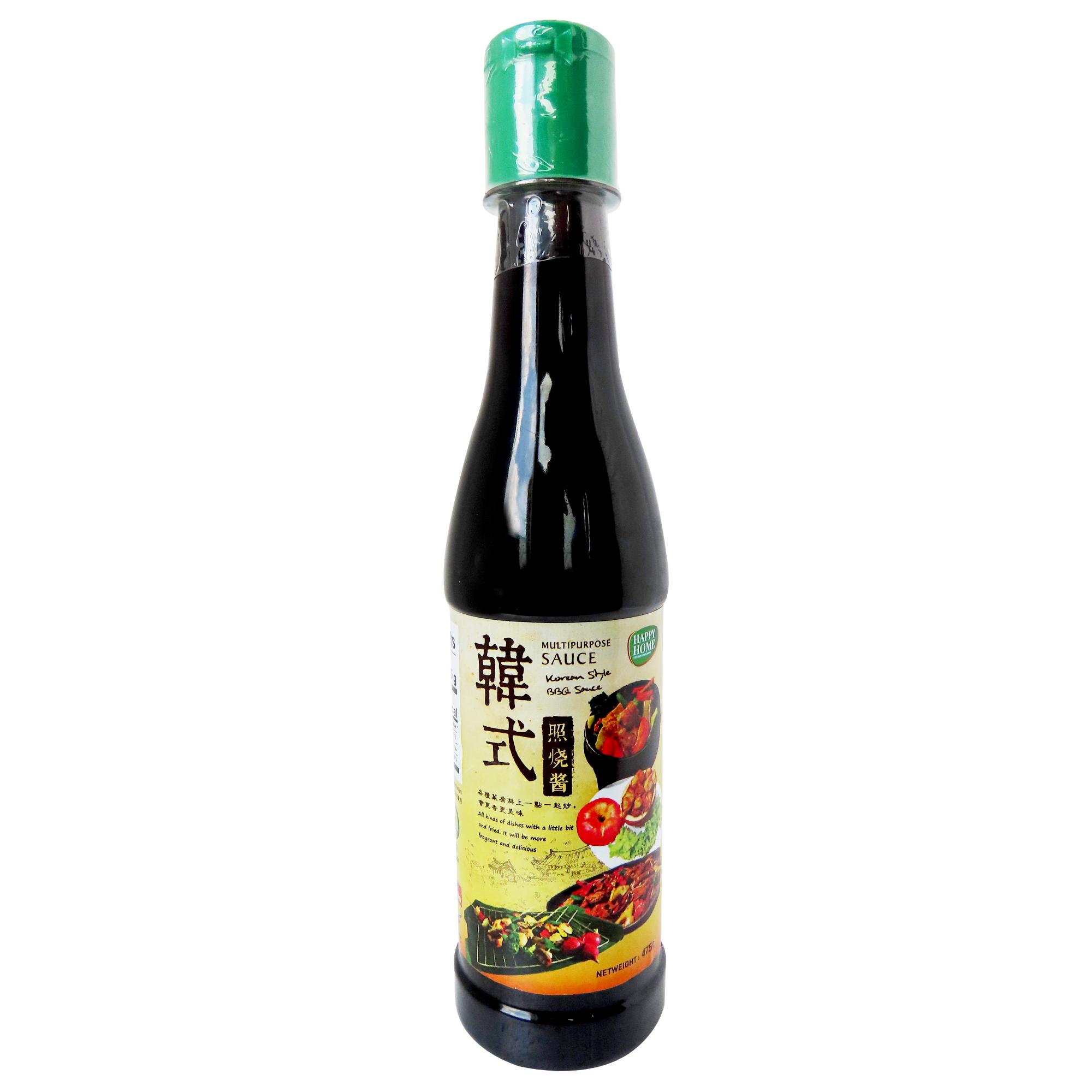 Image Happy Home Korean Style BBQ Sauce Multipurpose sauce 韩式照烧酱 475grams