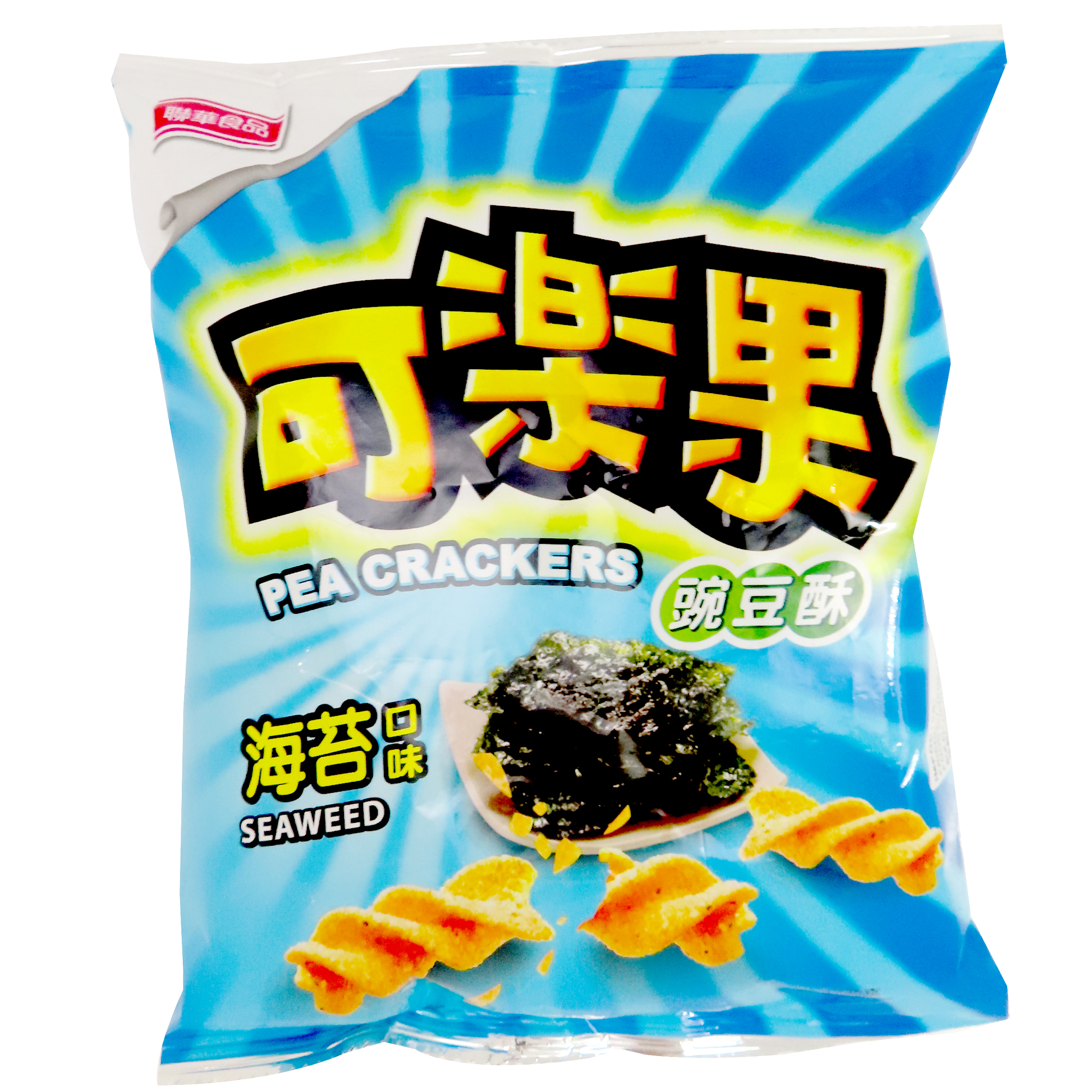 Image Pea Crackers (Seaweed) 联华 - 海苔可乐果 57grams