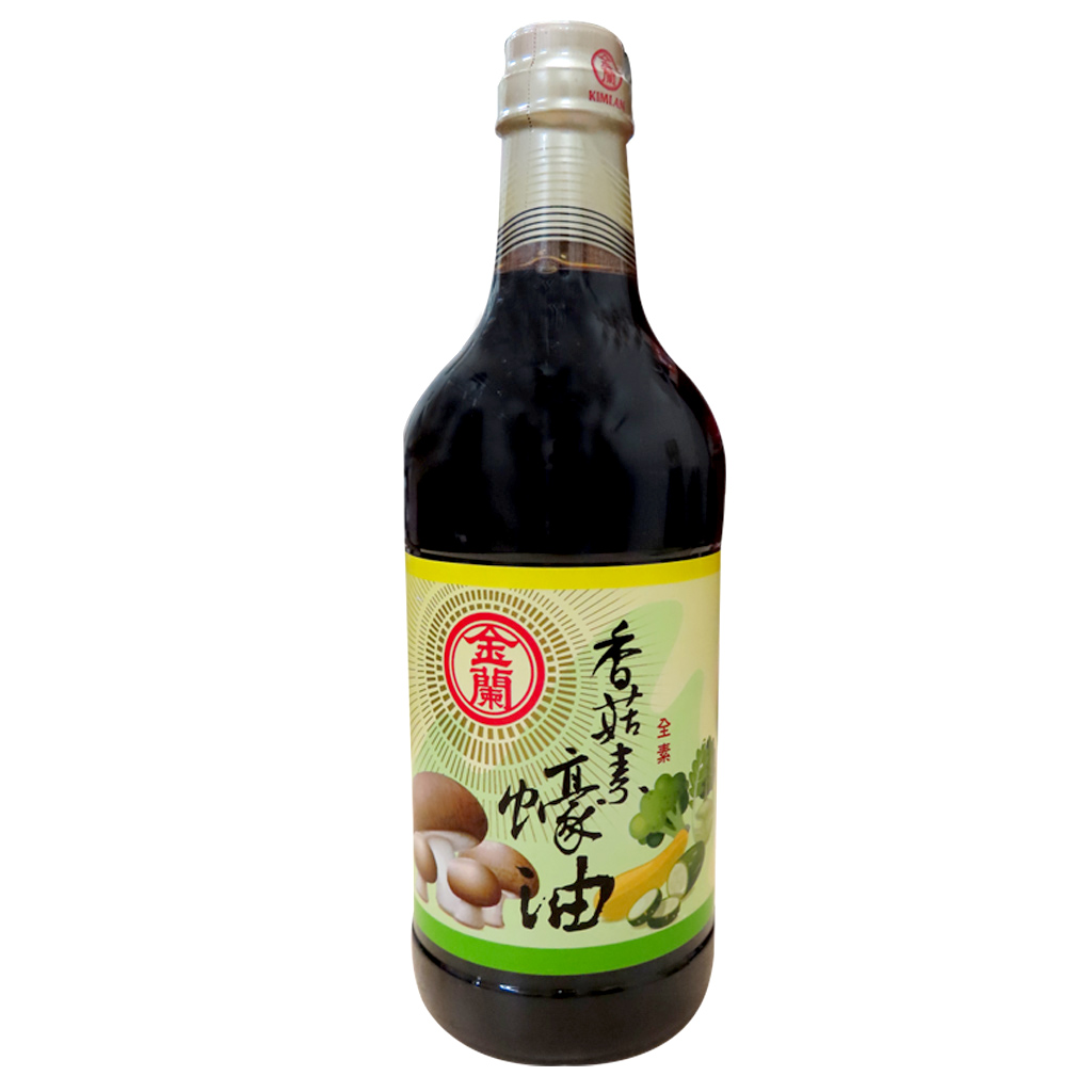 Image Vegetarian Mushroom Oyster Sauce 金兰-素食蠔油 1000 grams