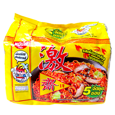 Image Nissin Korean Style Spicy Noodle 激 - 韩式辣味汤面 300grams