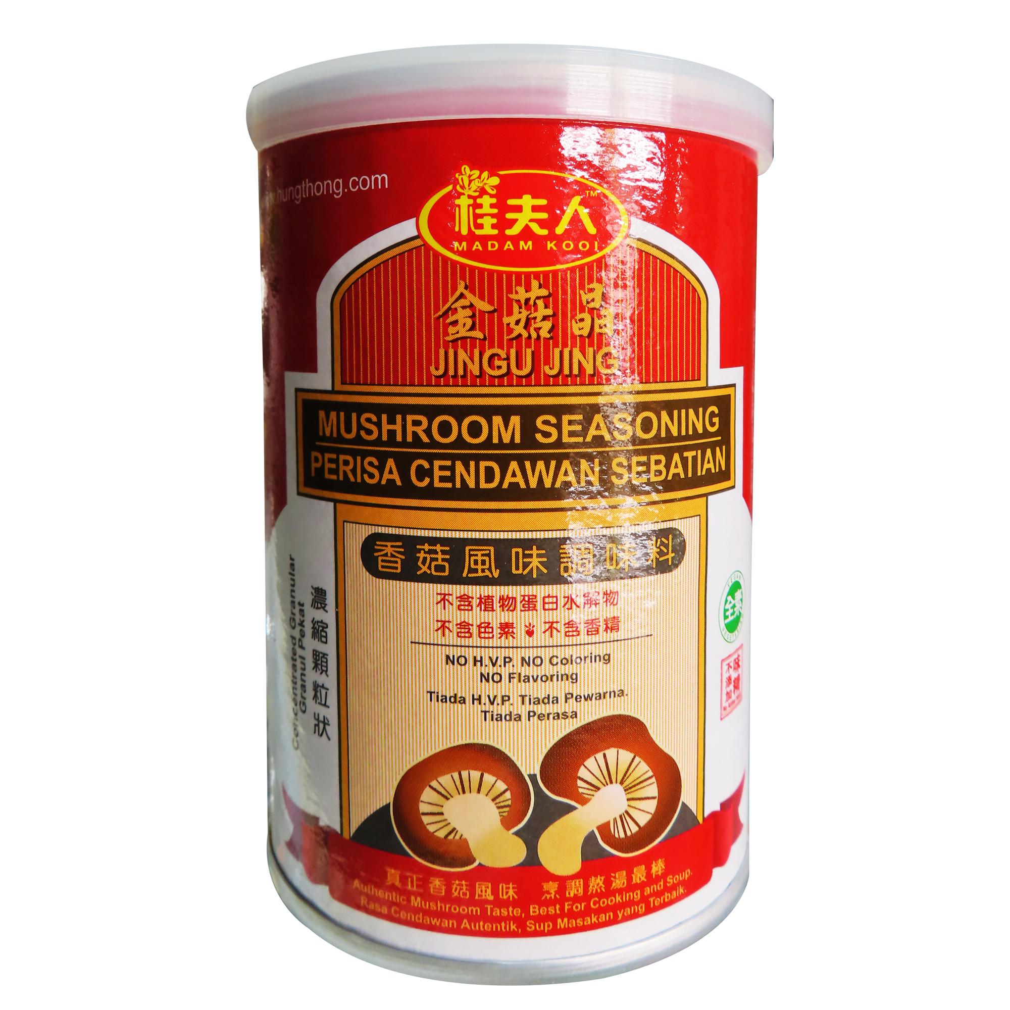 Image Mushroom Seasoning 桂夫人 - 金菇晶 (罐) 150grams