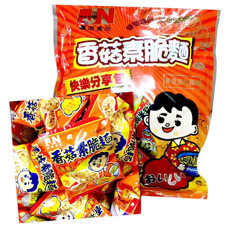 Image Mushroom Noodles Mamee Vegan 嘉南 - 香菇素脆面 240grams
