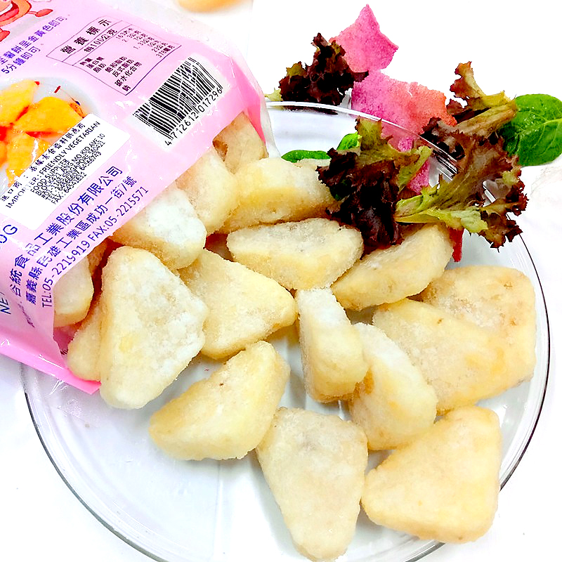 Image Fries Potato Patty hashbrown 谷统-小三角马铃薯饼 署片 700grams