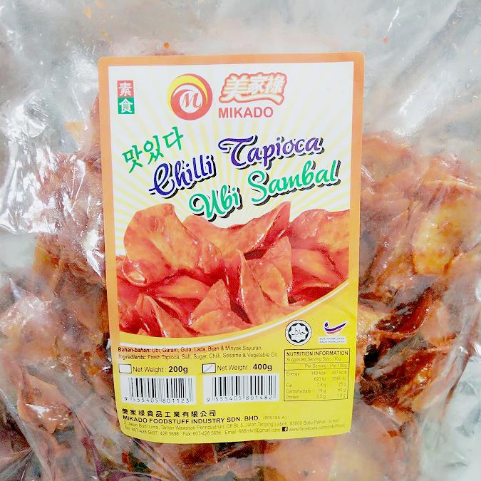 Image Chili Tapioca Ubi Sambal Mikado - 辣湿木薯 400grams