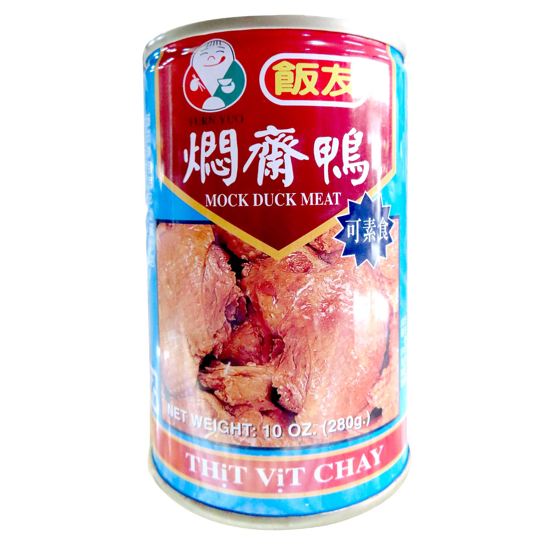 Image Mock duck meat can Ya Guan 饭友 - 焖斋鸭 280grams