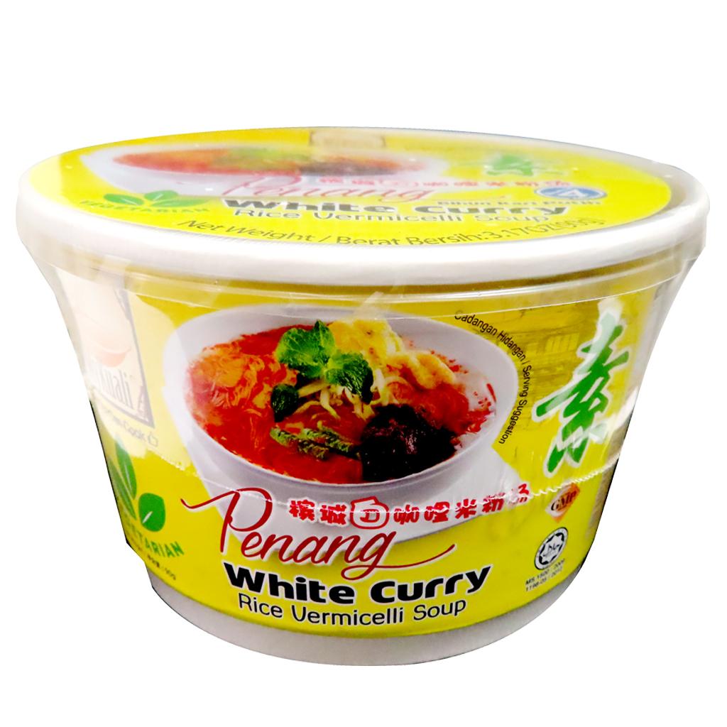 Image P/White Rice Vermicelli Soup 我锅丽 - 槟城白咖哩米粉汤碗 100grams