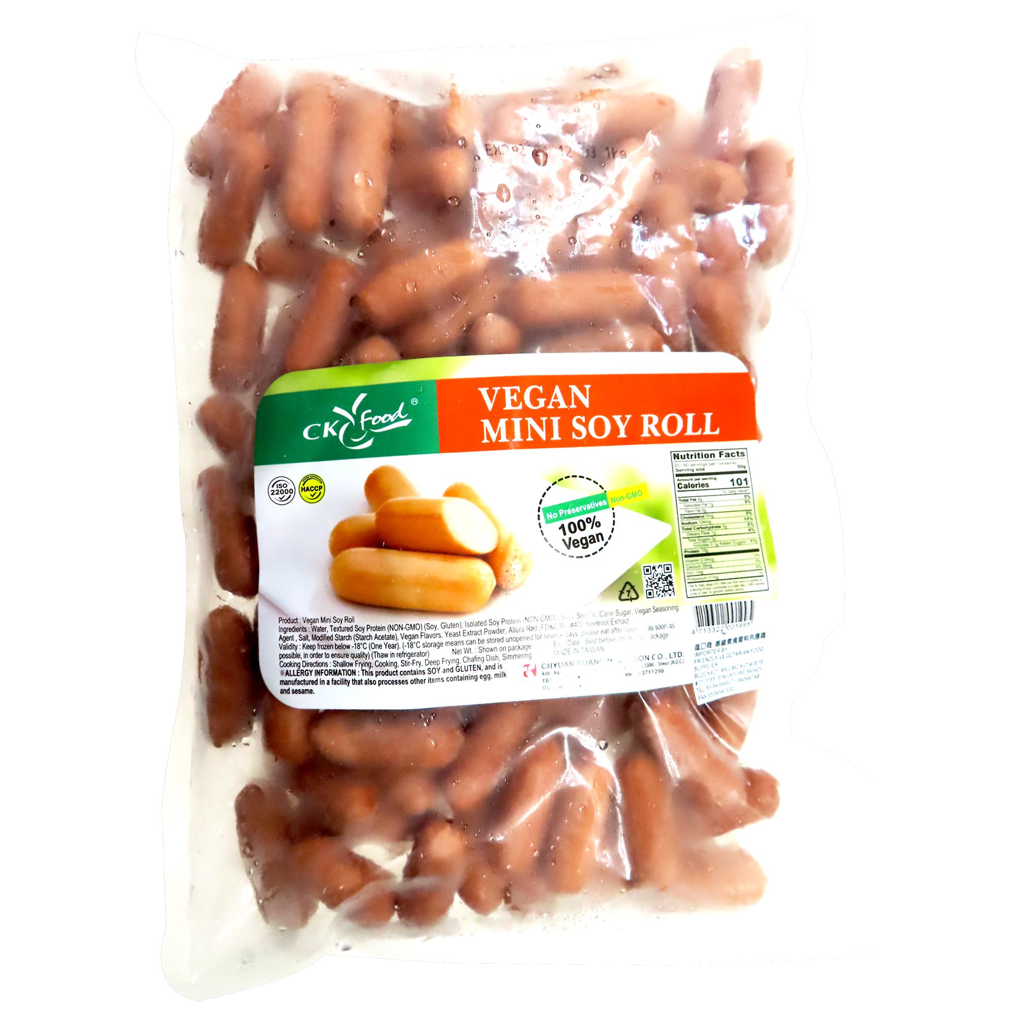 Image Vegan Mini Soy Roll 全广 - 全素QQ肠 1000grams