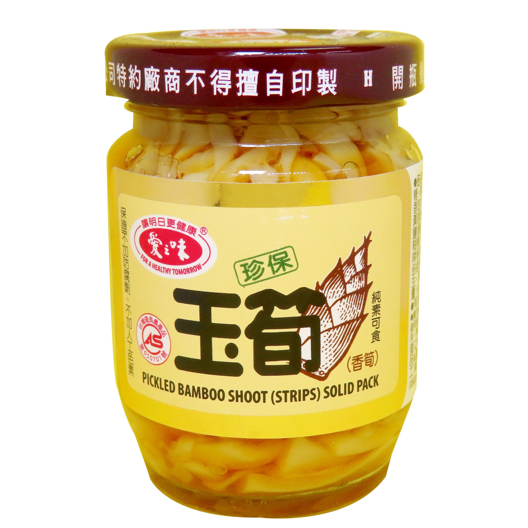Image Pickled Bamboo Shoot 爱之味 - 珍保玉筍 120 grams
