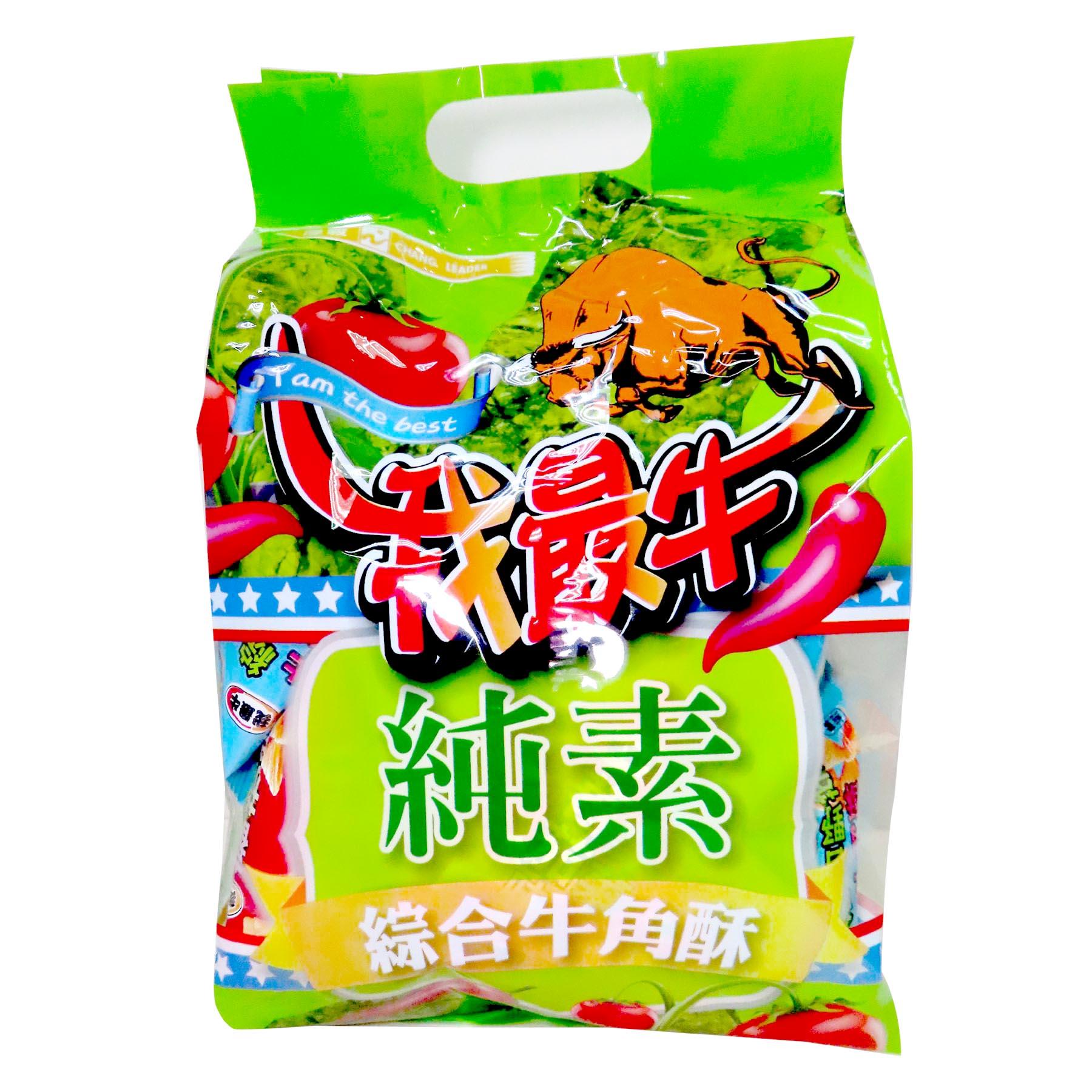 Image Assorted Cornsnack 我最牛 - 综合牛角酥 500grams