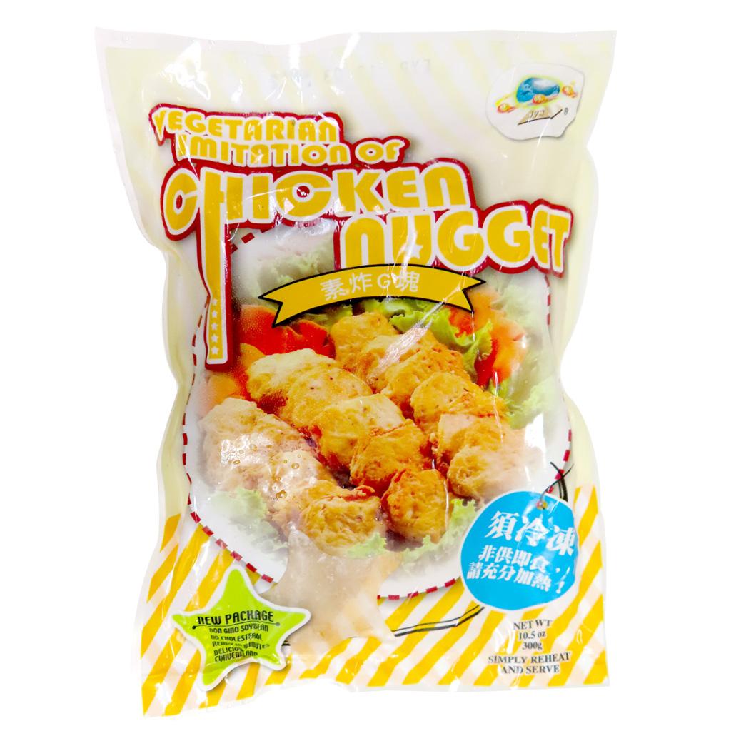 Image Chicken Nugget 桔缘香 - 素炸G塊 300grams