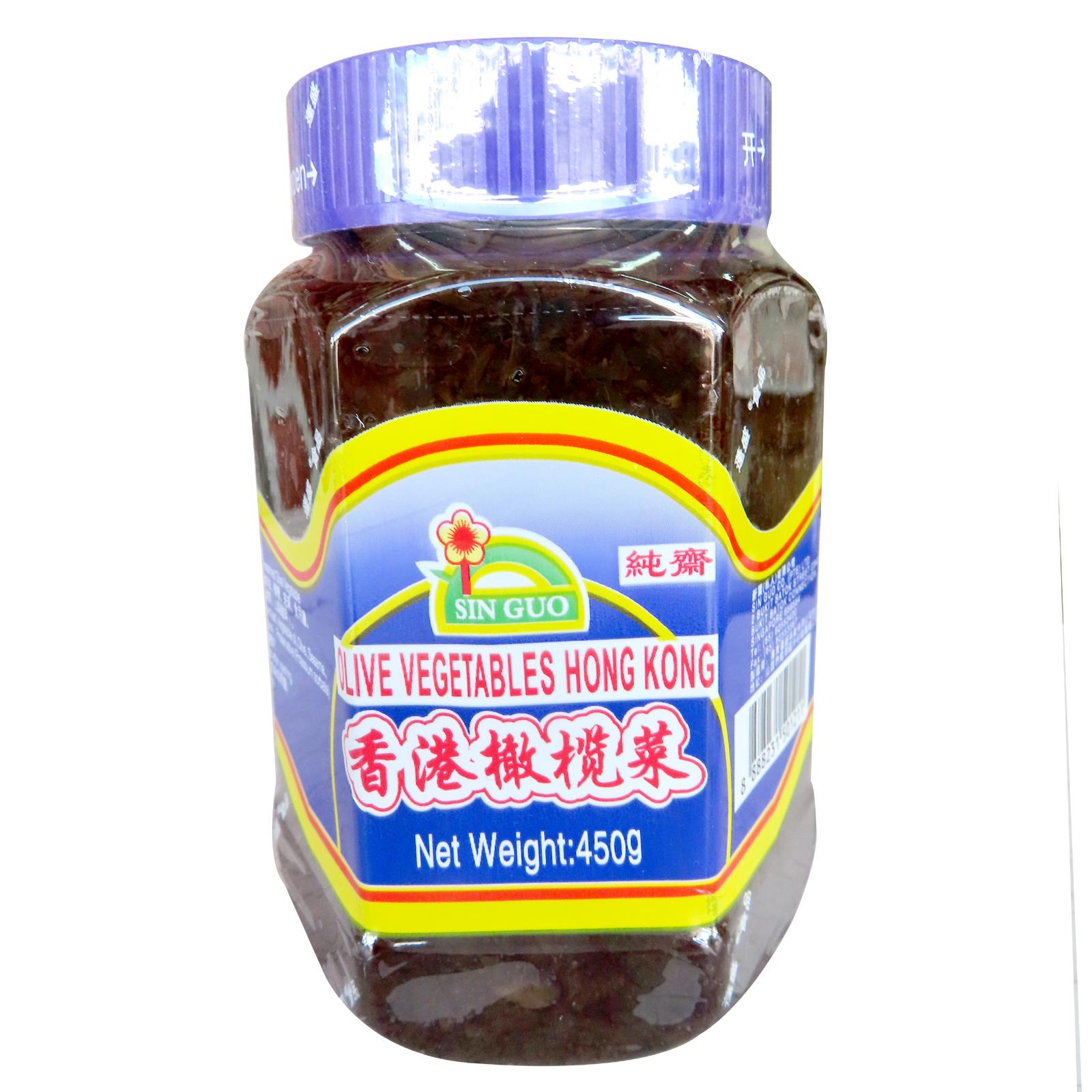 Image Olive vegetables Hong Kong 蓬盛 - 香港橄榄菜 450grams